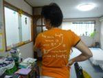 ラフターヨガのオリジナルTシャツ届きました!