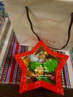 GODIVAのチョコレートをいただきました!