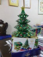 クリスマスツリーのプレモルをいただきました