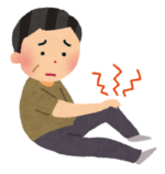 膝の痛みがひどかった患者様:終わったら楽になって、階段を下りるのが楽になりました。