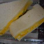 サンドイッチいただきました。