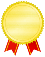 がんばる患者様ににゴールドメダルをプレゼントしちゃいました!