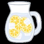 セルフケアー:疲労回復のためにレモン水を飲もう!