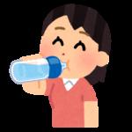 熱中症予防のための良いお水の飲み方