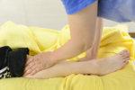 「捻挫が楽になりました」と患者様からコメントいただきました。